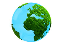 3D planet Earth Stock Photography