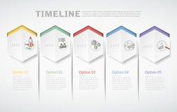 3D plantilla digital Infographic para el concepto del negocio Foto de archivo libre de regalías