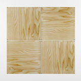 3 D plywood Royalty Free Stock Photos
