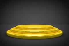 3D  Podium Background Illustration Royalty Free Stock Image