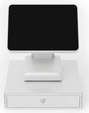 3d point of sale terminal with touch screen Royalty Free Stock Image