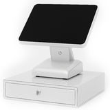3d point of sale terminal with touch screen Royalty Free Stock Photos