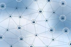 3d pojęcia wizerunku odosobniony ochrony biel Dane systemu bezpieczeństwa osłony ochrony weryfikacja Cyber ochrona, informacja i  Zdjęcia Stock