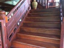 3d pojęcia ilustracyjny schodków sukces drewniany Obrazy Stock