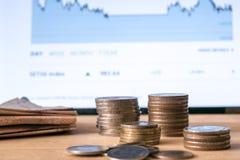 3 d pojęcia pojedynczy utylizacji inwestycji Zdjęcia Stock