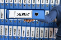 3 d pojęcia pojedynczy utylizacji inwestycji Strategia Inwestycyjna Zdjęcie Stock