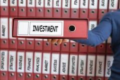 3 d pojęcia pojedynczy utylizacji inwestycji Strategia Inwestycyjna Obraz Stock