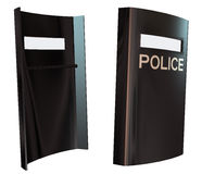 3d Police Shield Stock Images