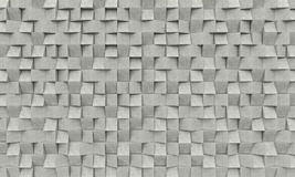 3d concrete geometric background royalty free illustration