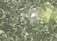 3D polygonal background Royalty Free Stock Photography