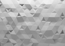 3D polygonal background Stock Photos