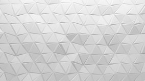 3D polygonal background Stock Photography