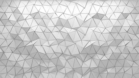 3D polygonal background Royalty Free Stock Photos