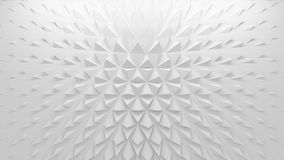3D polygonal background Stock Photo