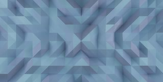 Blue Abstract Triangle Background Illustration Texture Royalty Free Stock Photography