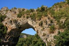 弧d pont vallon 库存图片