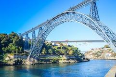 d Ponte de Maria em Porto fotografia de stock royalty free