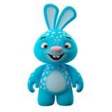 3D postać z kreskówki, Easter królik ilustracja wektor