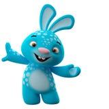 3D postać z kreskówki, Easter królik ilustracji