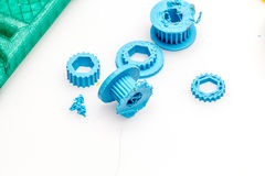 3D printable things, print colect build exchange change. Everyone should be encouraged to create and remix 3D things, anyone can use or alter any design Stock Images