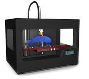 3D Printed Gun Stock Image