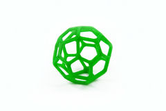 3D Printed Sphere Shaped Object stock photography