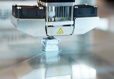 3D printer in actie stock foto's