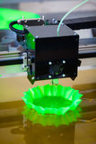 3d printer in action Royalty Free Stock Image