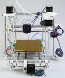 3D Printer Assembly Stock Afbeelding