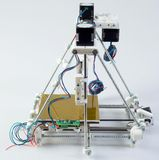 3D Printer Assembly Royalty-vrije Stock Fotografie
