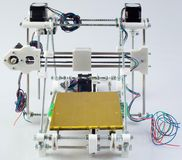 3D Printer Assembly Stock Photography