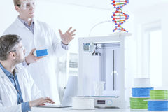 3d printer for chemistry research Stock Photo