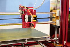 3d printer Royalty Free Stock Image