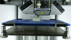 3D Printer detail stock footage