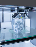 3D Printer (FDM). Fused deposition modeling (FDM) is an additive manufacturing technology commonly used for modeling, prototyping, and production applications Royalty Free Stock Photography