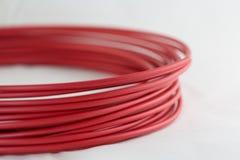 3D Printer Filament Stock Image