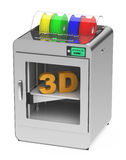 3d printer Royalty Free Stock Photos