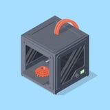 3D Printer Illustration Stock Afbeeldingen