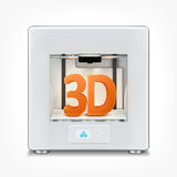 3d printer Stock Image