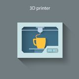 3D printer Royalty Free Stock Images