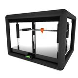 3d printer isolated over white Royalty Free Stock Images