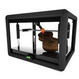 3d printer manufacturing a guitar Royalty Free Stock Photography