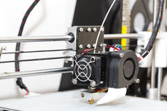 3d printer mechanism working Stock Images