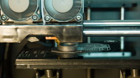 3D-printer Mechanismus Timelapse stock video footage