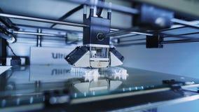 3D printer op het werk stock footage