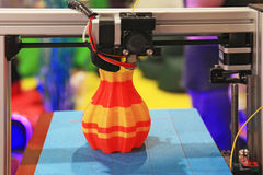 3D printer for plastic Royalty Free Stock Images