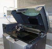 3D Printer (Polyjet). PolyJet is a 3D printing technology that produces smooth, accurate parts, prototypes and tooling stock image
