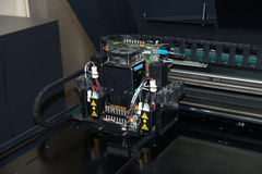 3D Printer (Polyjet). PolyJet is a 3D printing technology that produces smooth, accurate parts, prototypes and tooling royalty free stock photography