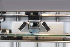 3D Printer Printing Stock Photo