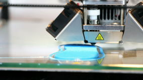 3D printer printing stock video footage